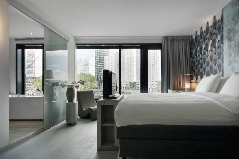 Vitrage en gordijnen inntel mainport hotel rotterdam m n
